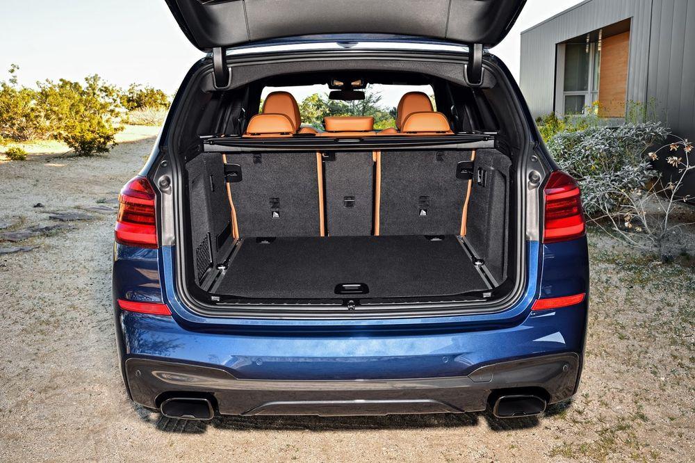 BMW X3 M40i багажник