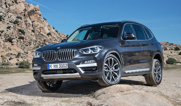 BMW X3 G01 на внедорожье