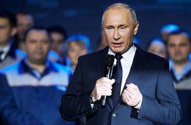 Путин объявил об участии в выборах 2018