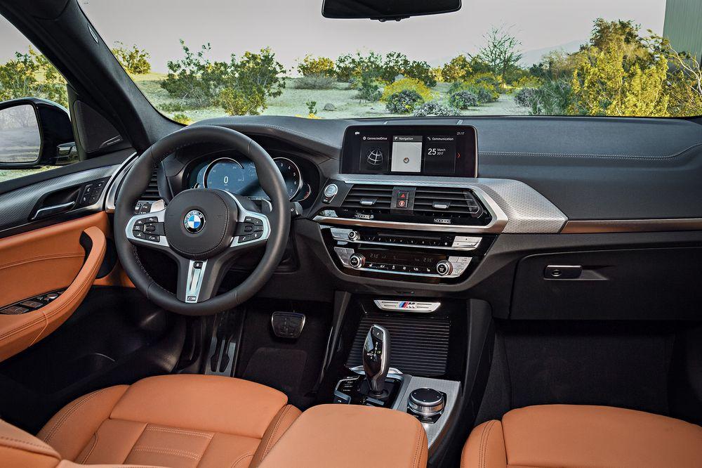 интерьер BMW X3 G01
