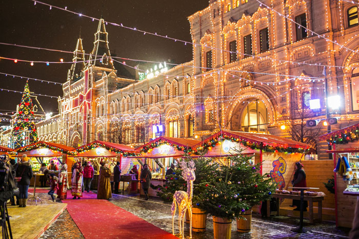 Где в Москве встретить Новый Год 2018 интересно и недорого