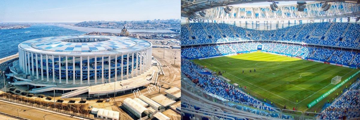 Стадион в Нижем Новгороде