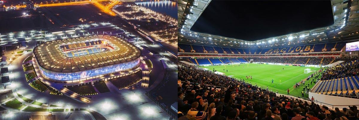 Ростов арена в 2018 году