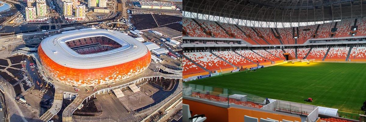 Стадион в Саранске