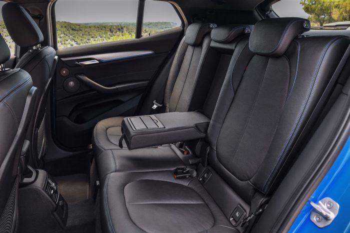 БМВ Х2 2018 задний ряд сидений