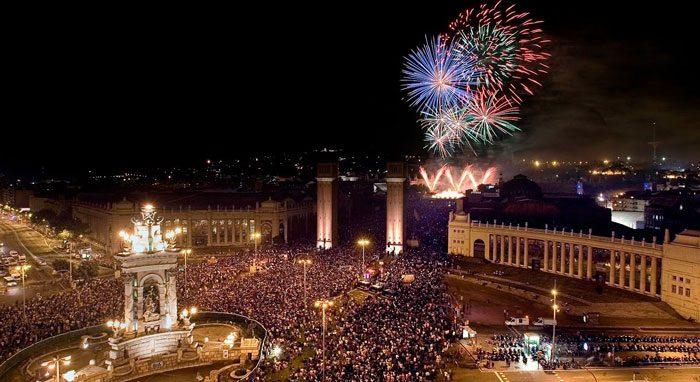 Каталония празднует Новый год