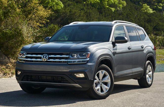 Volkswagen Teramont 2018 спереди