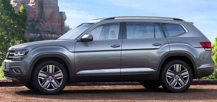 Volkswagen Teramont 2018 сбоку