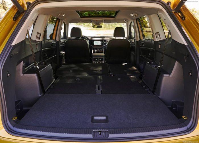 Volkswagen Teramont 2018 багажник
