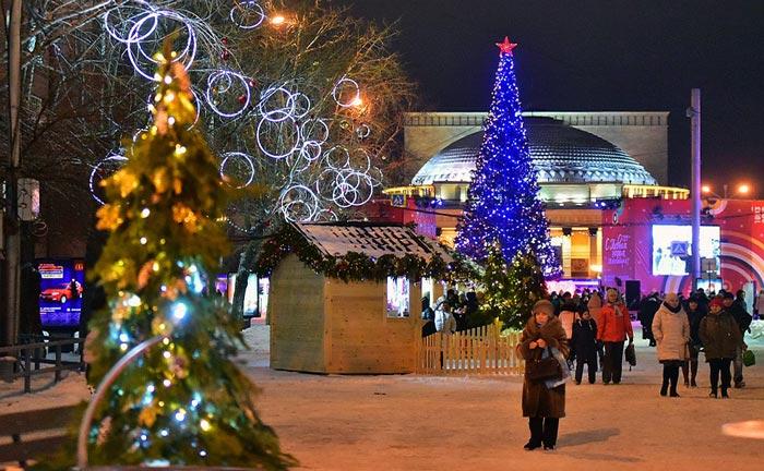 Новогодние мероприятия в Новосибирске в 2019 году новые фото