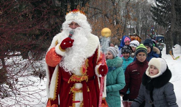 резиденция Деда мороза в Омске