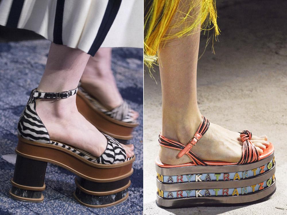 Модная летняя обувь 2019