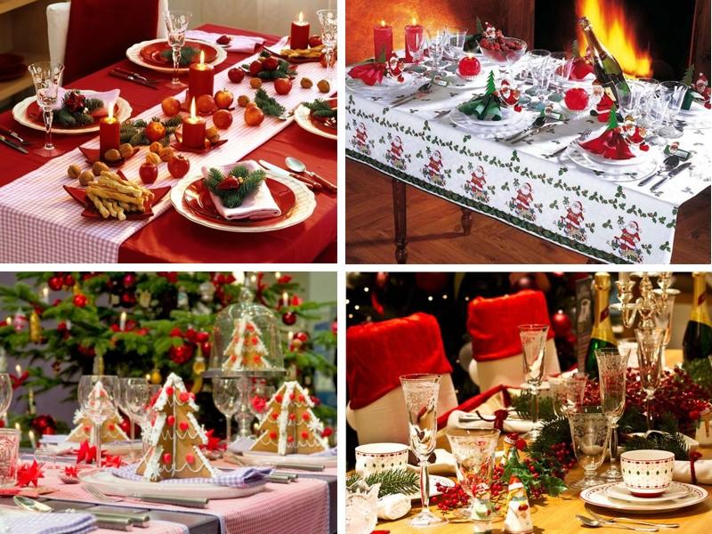 демонические необычный новогодний стол с фото меню при гастрите